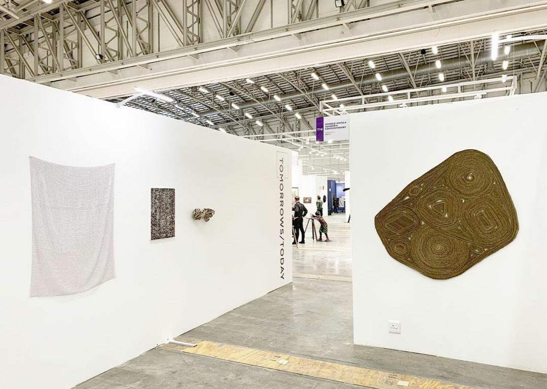 "Installation View: Bonolo Kavula, ""Tomorrows/Today"", Investec Cape Town Art Fair 2020"