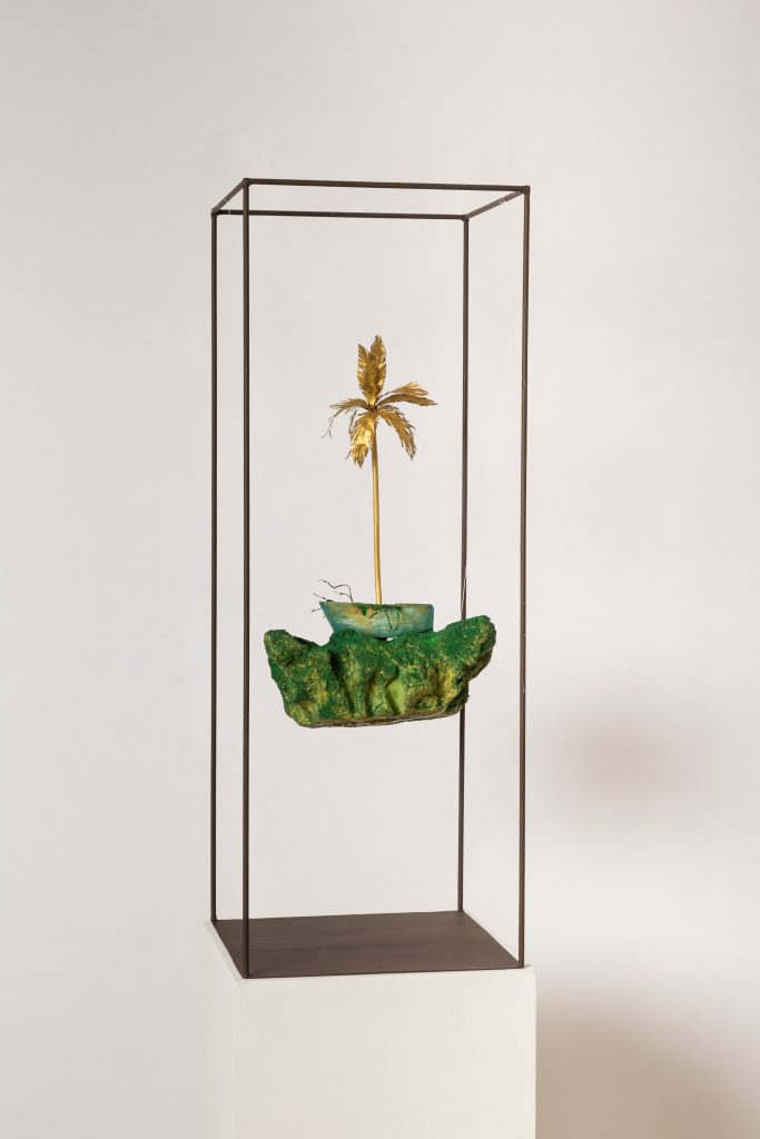Installation by Houda Terjuman. Courtesy Galerie Venise Cadre and artist