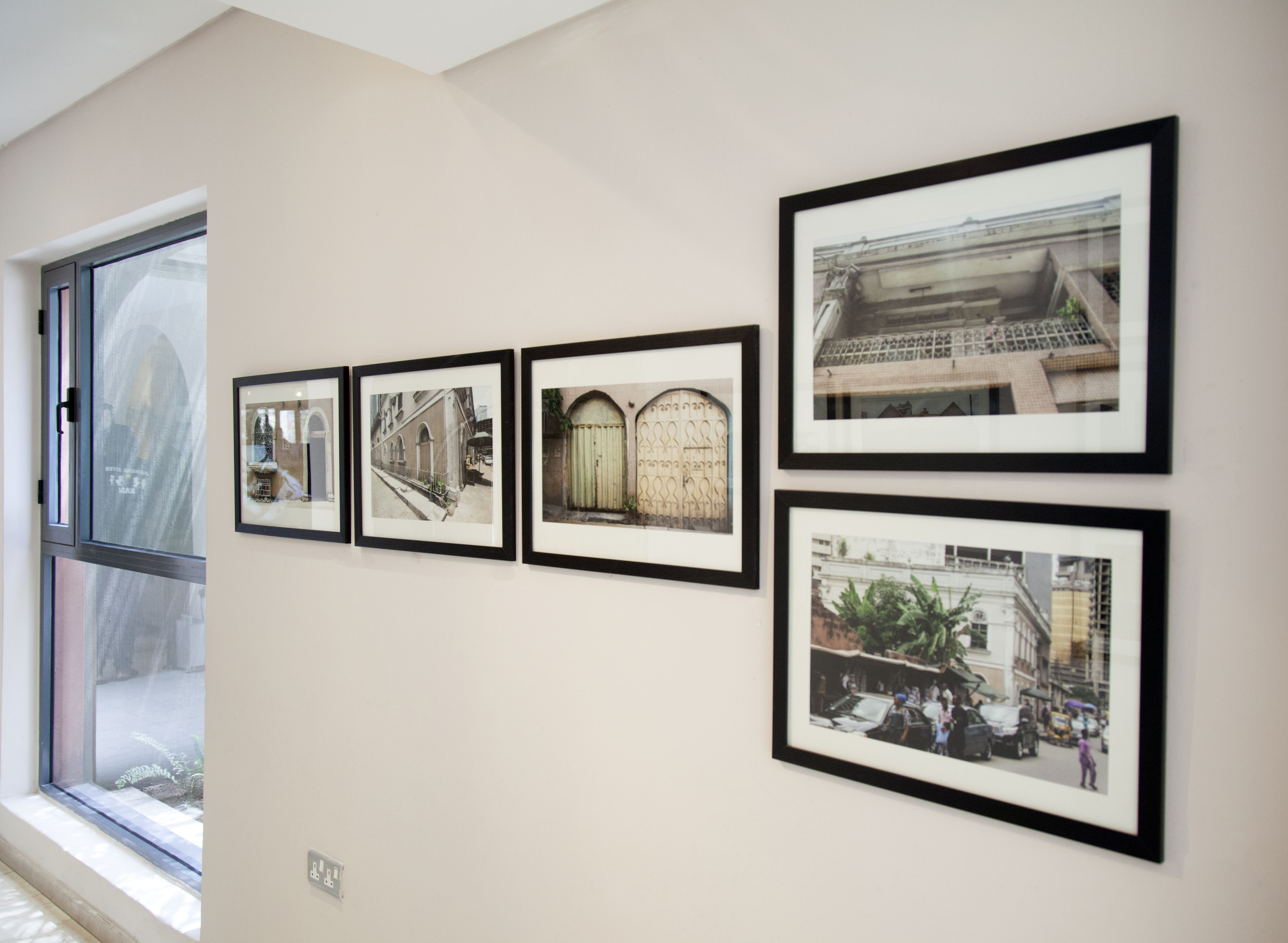 "Installation View: Amanda Iheme ""Dis Lagos Life"", 2020. Courtesy SMO Contemporary Art"
