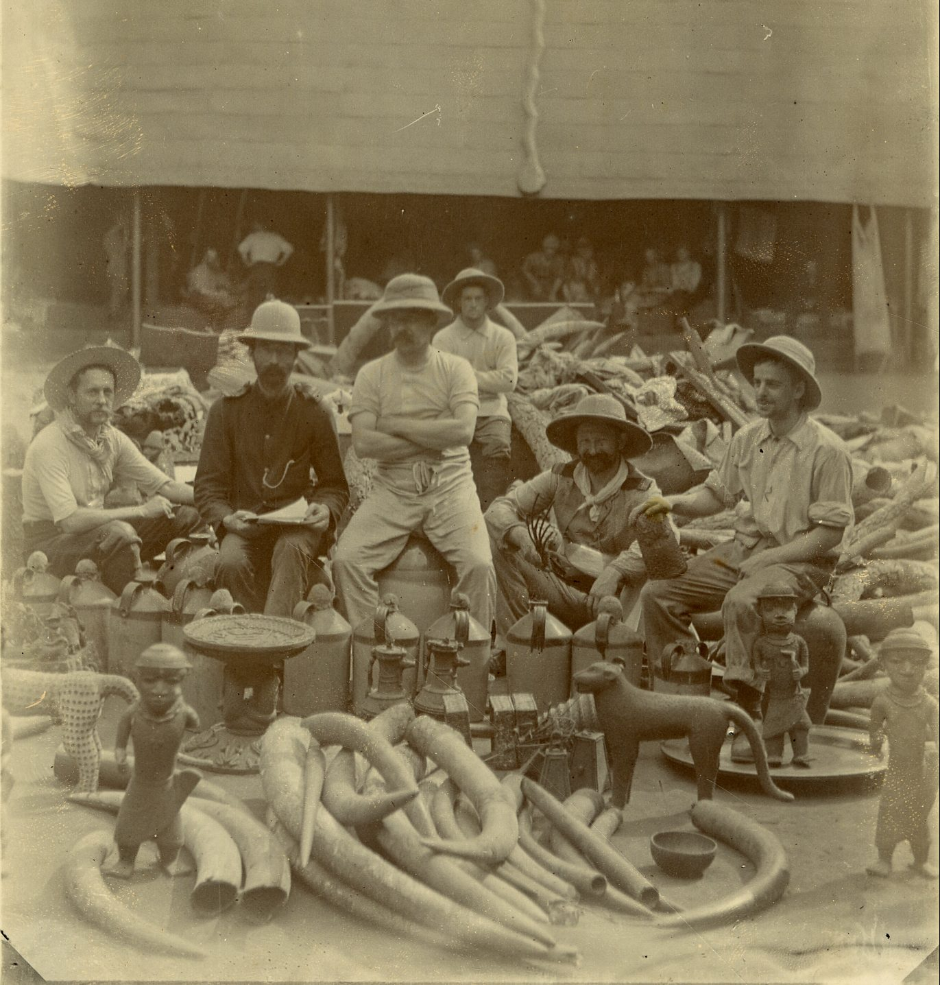 Photos from Benin Bronzes Loot in 1897 from the British Museum.