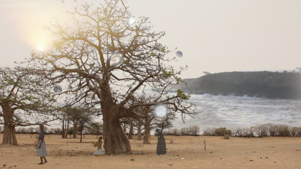 """Video still from """"After the Boats Set Sail"""" (2017-2018) by Kitso Lelliott. Courtesy of the Goethe-Institut"""