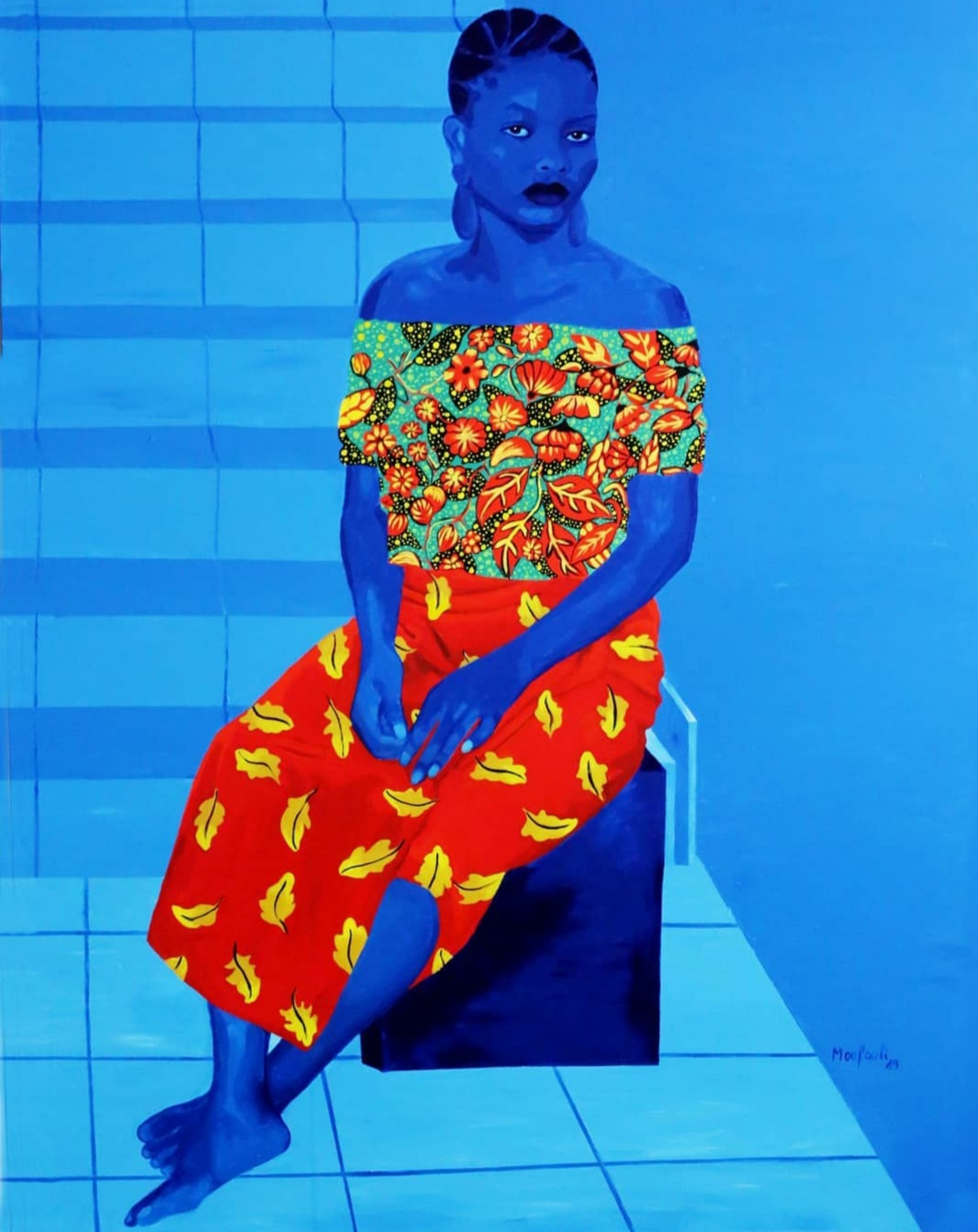 Moufouli Bello 'A Kind of Woman', 2019, courtesy of the artist.