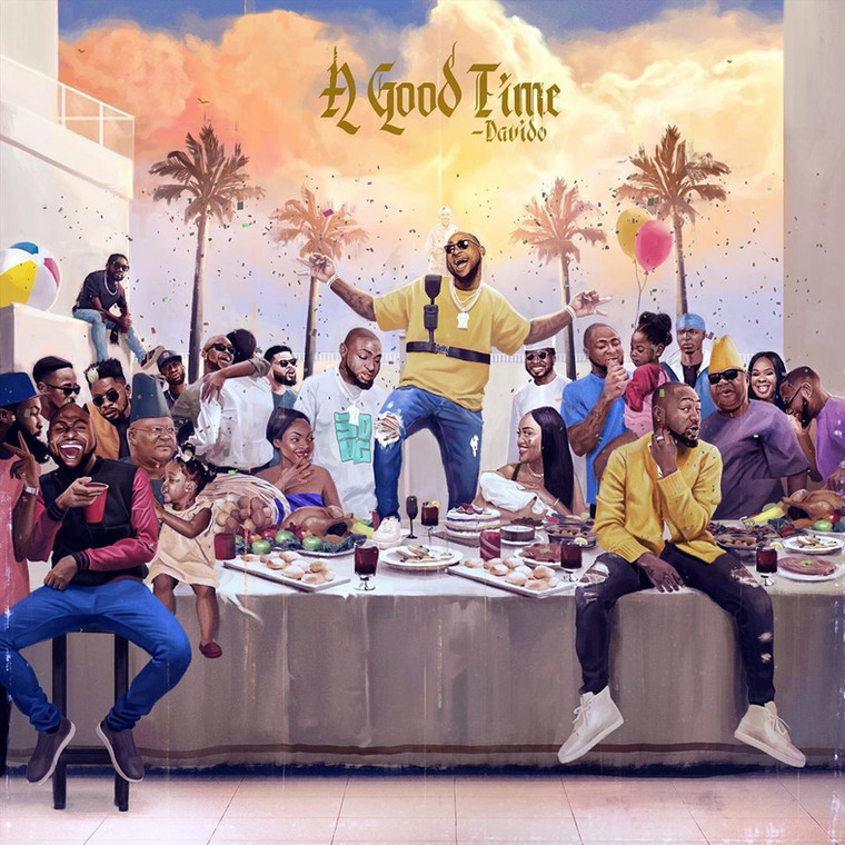 Album Cover: Davido, 'A Good Time'. Source: pmnewsnigeria.com