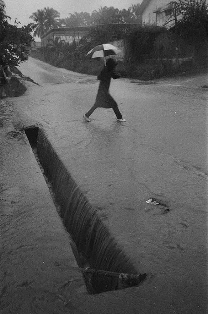 Ananias Léki Dago, 'Rainy Days' series. Image courtesy of the artist.