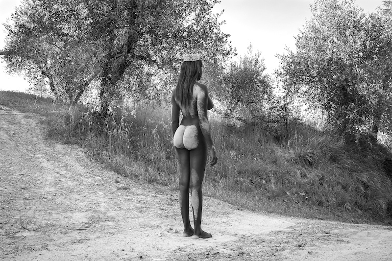 Jenevieve Aken, 'Dust on Butt' 2017, from the series 'Sanctuary' via jenevieveaken.com
