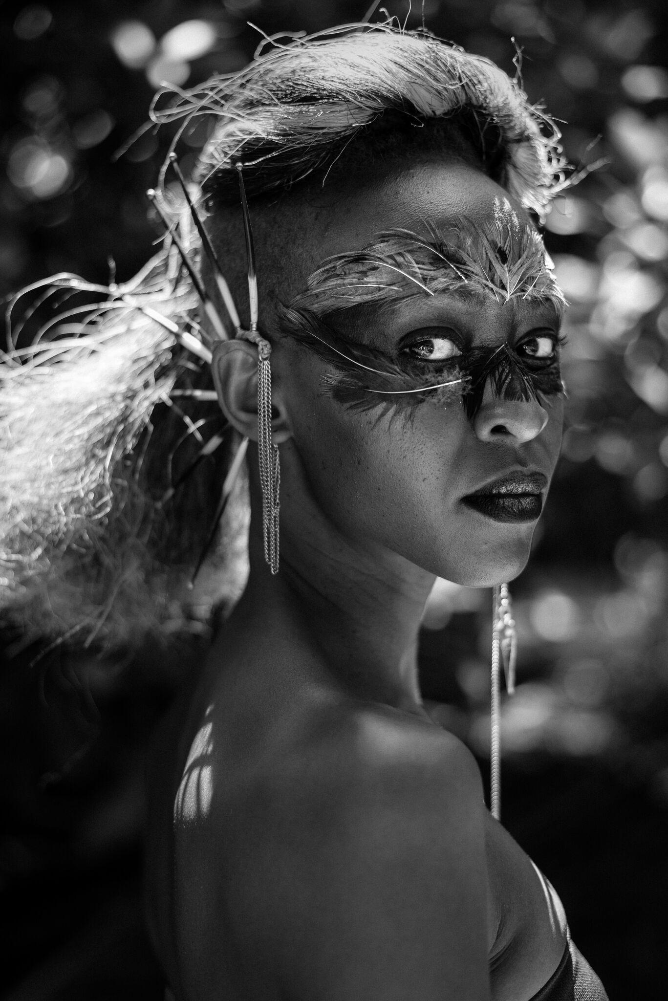 Ng'endo Mukii, 'Red Woman' still from 'Nairobi Berries', 2017. Image courtesy of Ng'endo Mukii