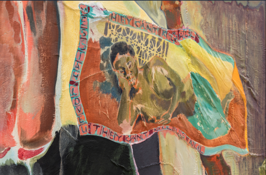 """Michael Armitage, """"The Promised Land"""", 2019, Courtesy of Haus der Kunst"""