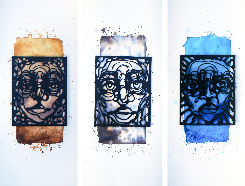 """Nwakuso Edozien, """"Three Identities"""", 2020, Mixed Media, Courtesy of SMO Contemporary Art"""