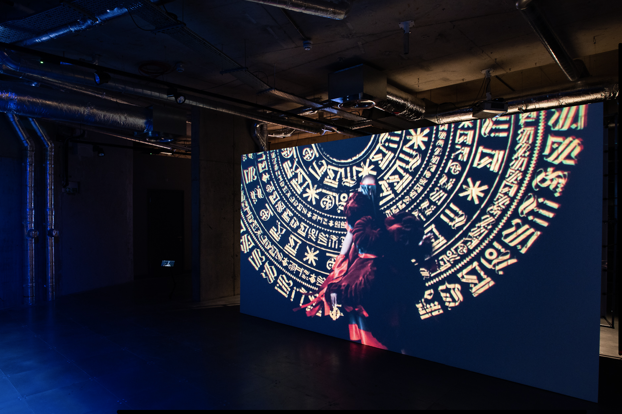 Installation view: 'Powerplay'. Photo by Max Colson, courtesy of arebyte Gallery.
