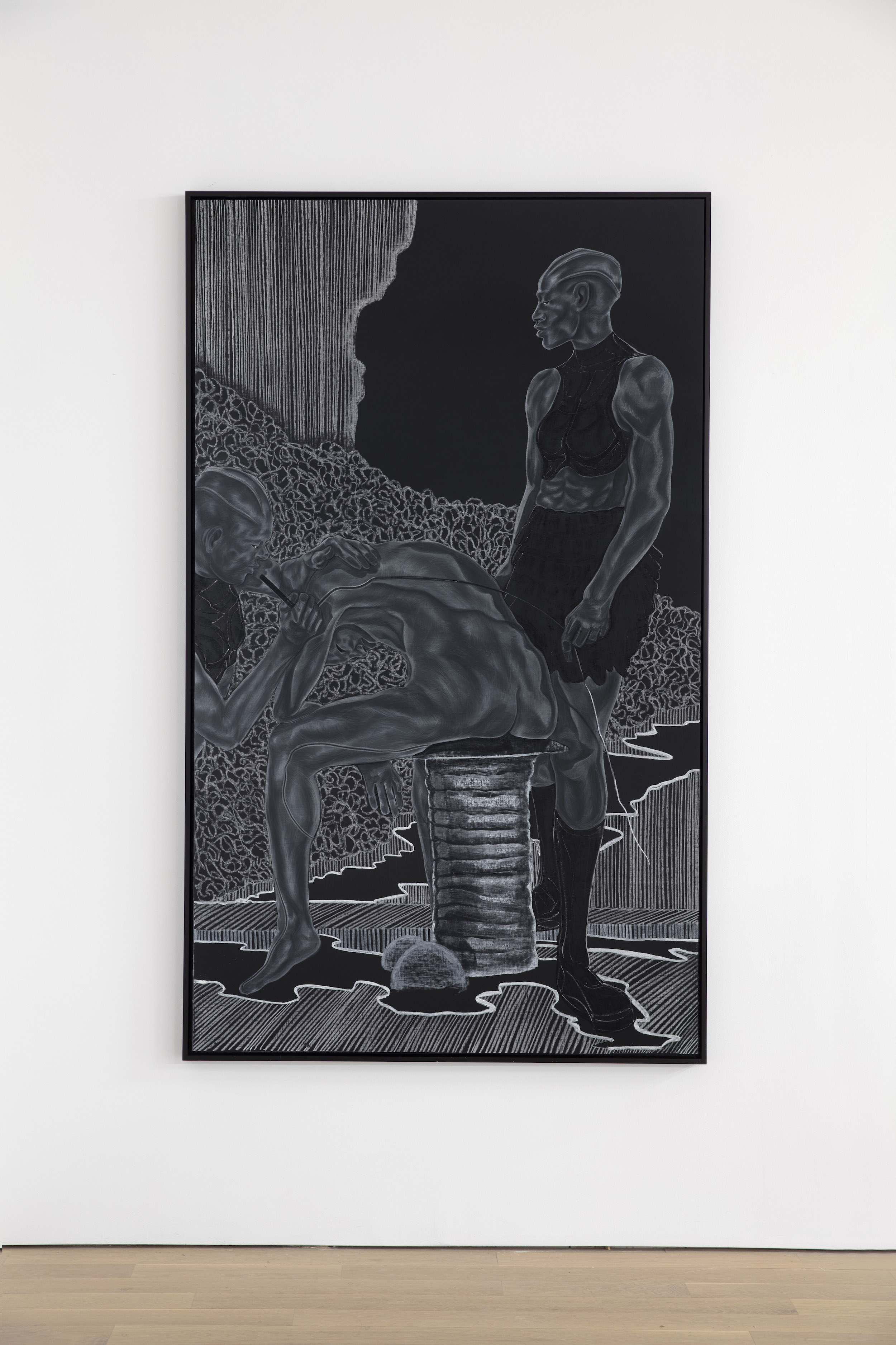 Toyin Ojih Odutola's A Countervailing Theory series