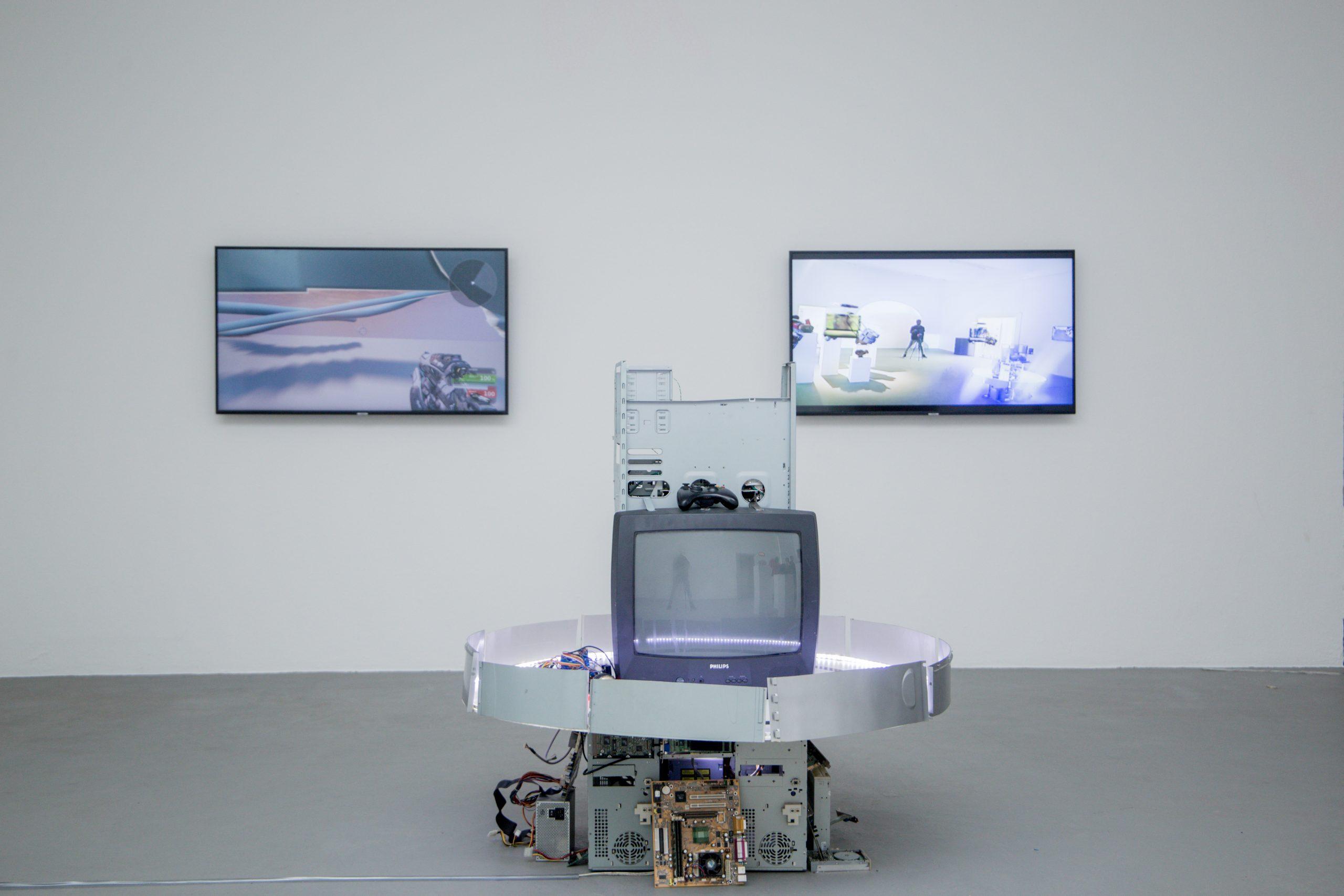 "Akwasi Bediako Afrane at ""UmStand der Dinge: A State of Affairs"", Group Exhibition."
