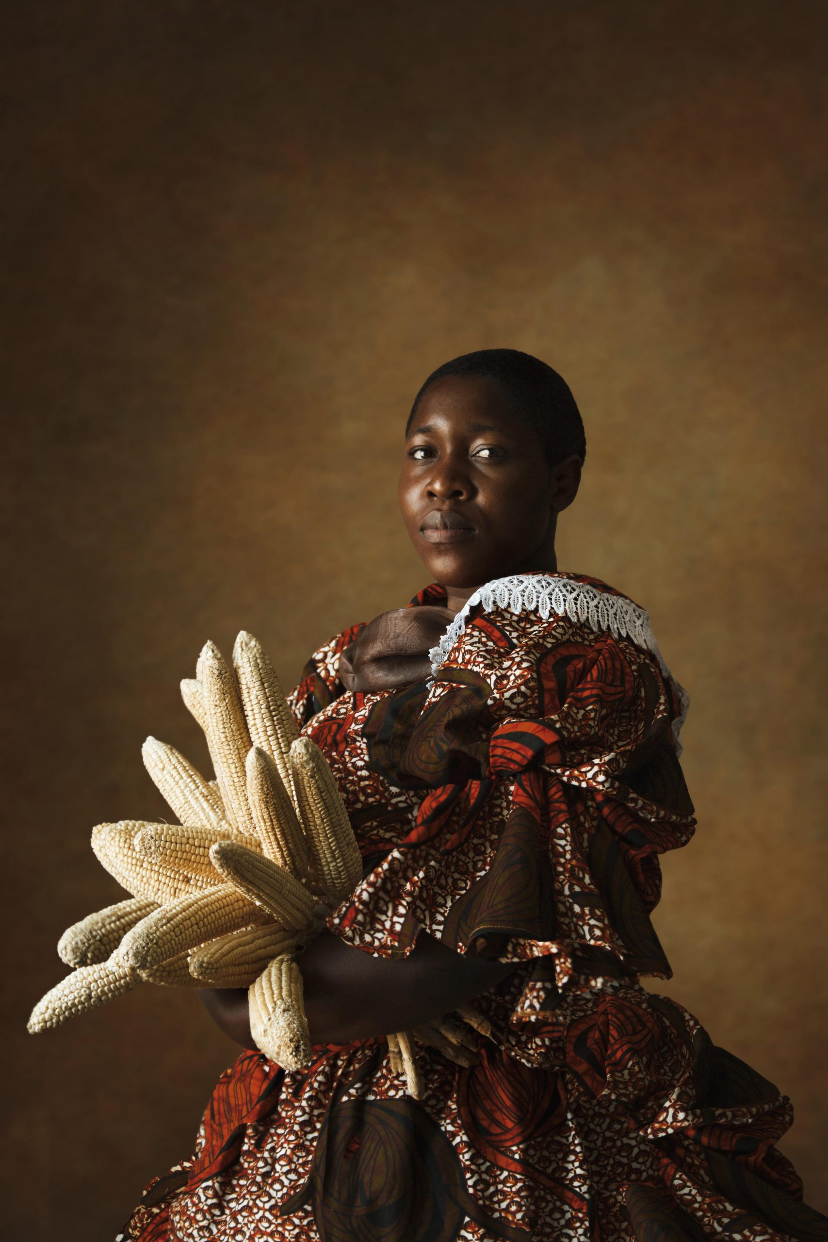 Tamary Kudita, African Victorian III: Lady with Corn, 2020. Courtesy of the artist.