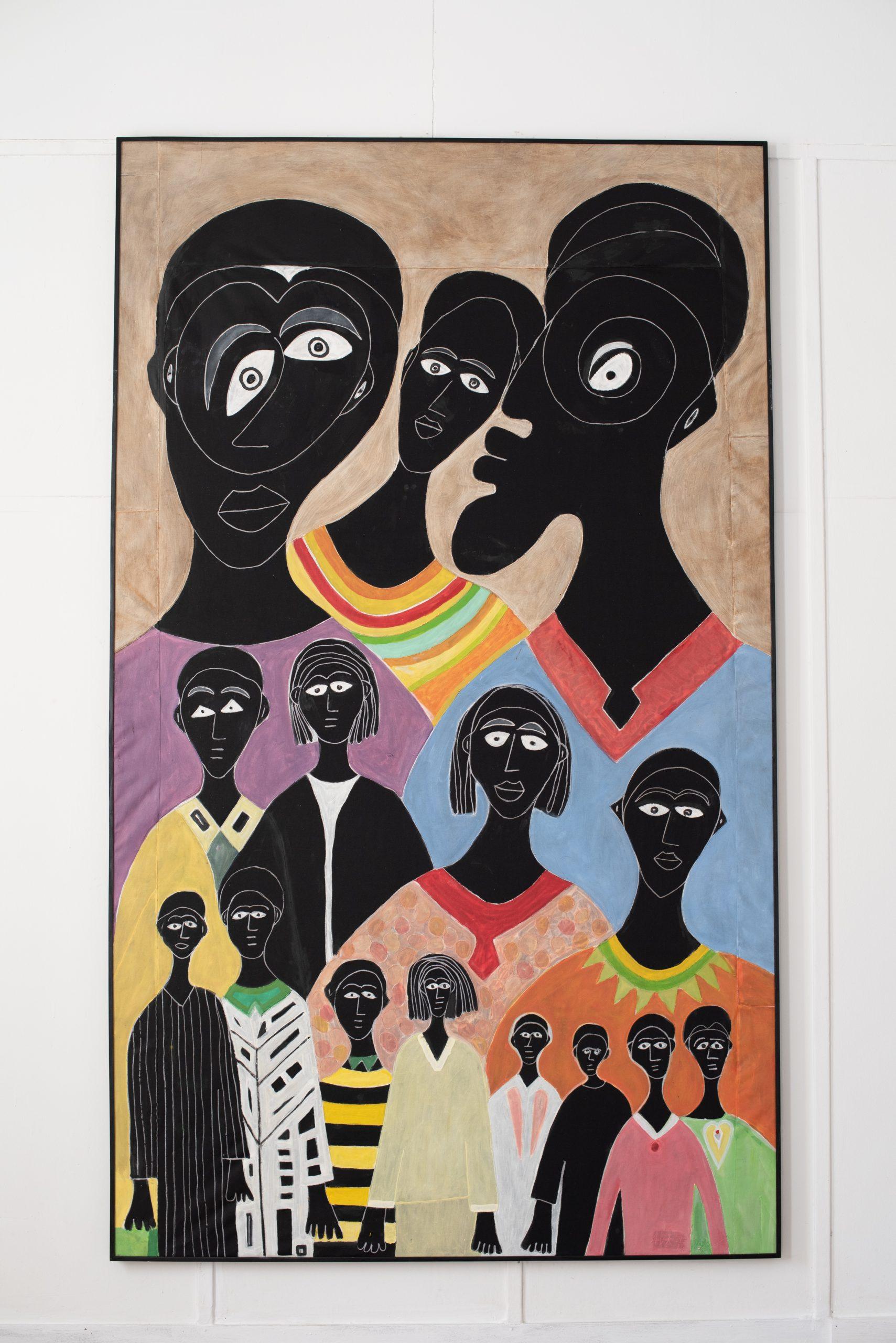 """Alioune Diouf, """"De Génération en Génération"""", 2020. Courtesy of Selebe Yoon"""