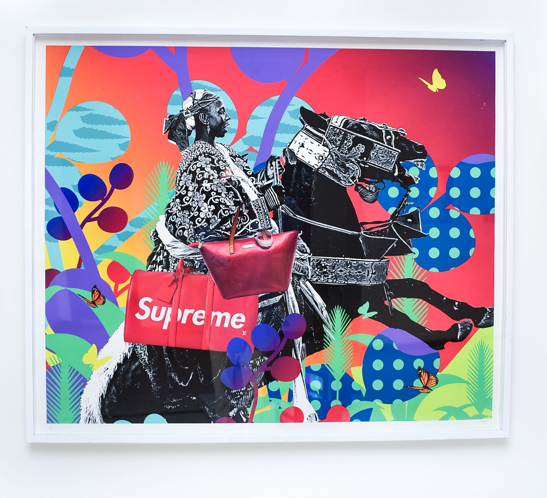 Williams Chechet, Hypebeast, 2020, archival glycee on paper. Courtesy of Retro Africa and the artist