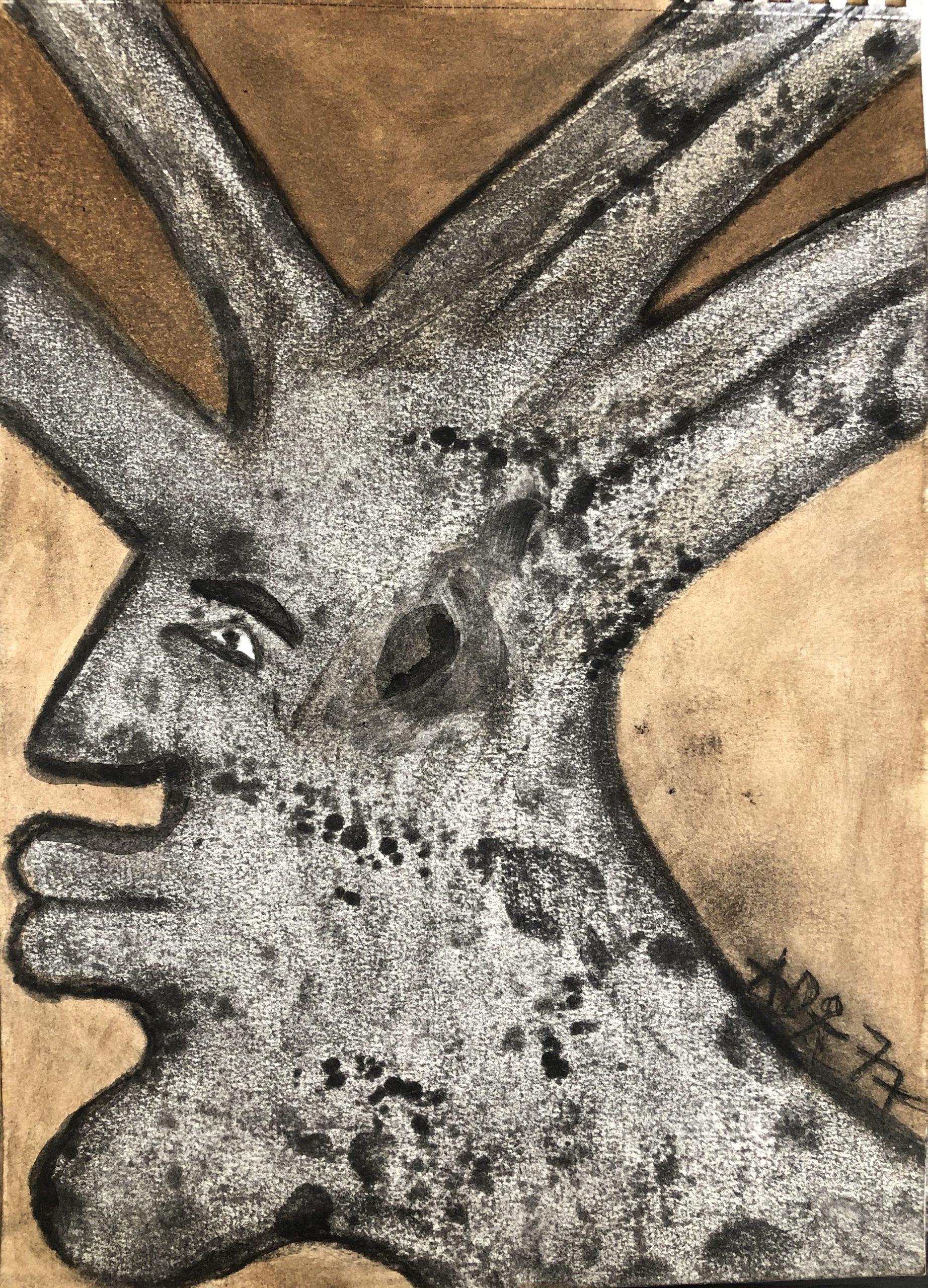 "Alioune Diouf, ""L'amour du baobab (II)"", 2020. Courtesy of Selebe Yoon"