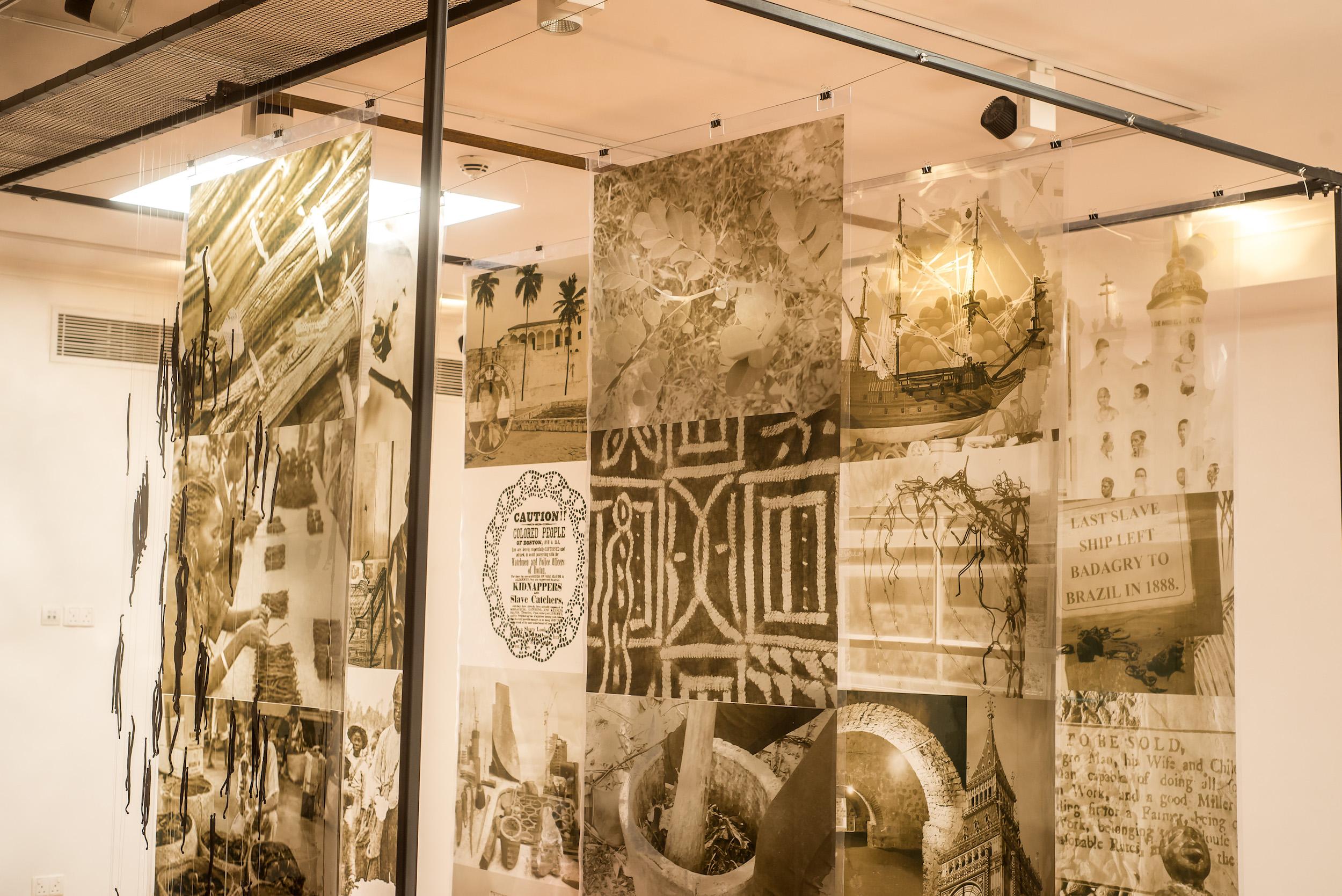 Ndidi Dike's exhibition in Lagos