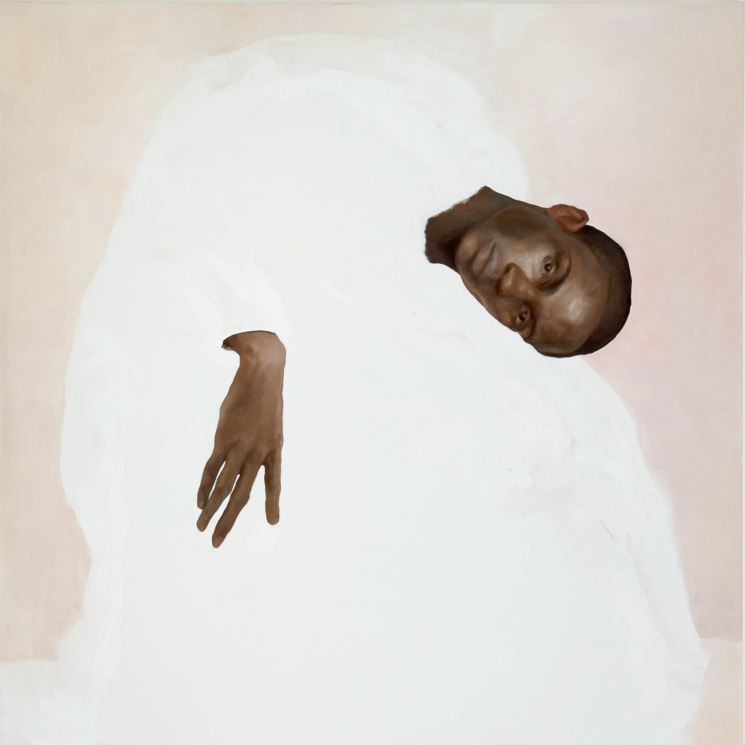 "Xavier Daniels, ""Prayers in Not a Formal Affair"", 2020, oil on canvas. Courtesy of Richard Beavers Gallery"