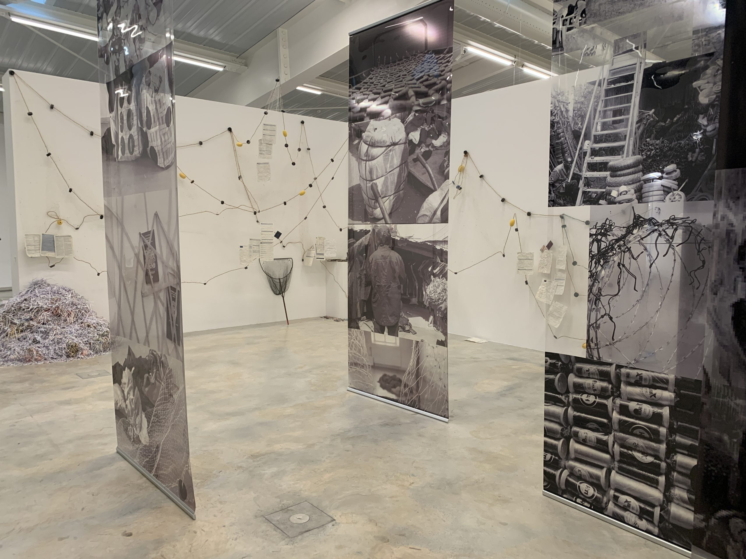 Africa2020 Season: Ndidi Dike, 'Constellations, Floating Spaces and Remembrance, 2016-2017. Installation view at 'Memoria: accounts of another History' at Frac Nouvelle Aquitane. Photo credit: artness