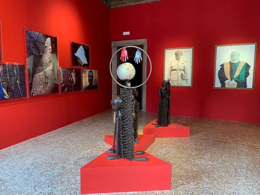 Installation view: Mozambique pavilion at Venice Biennale 2019, via artsy.net