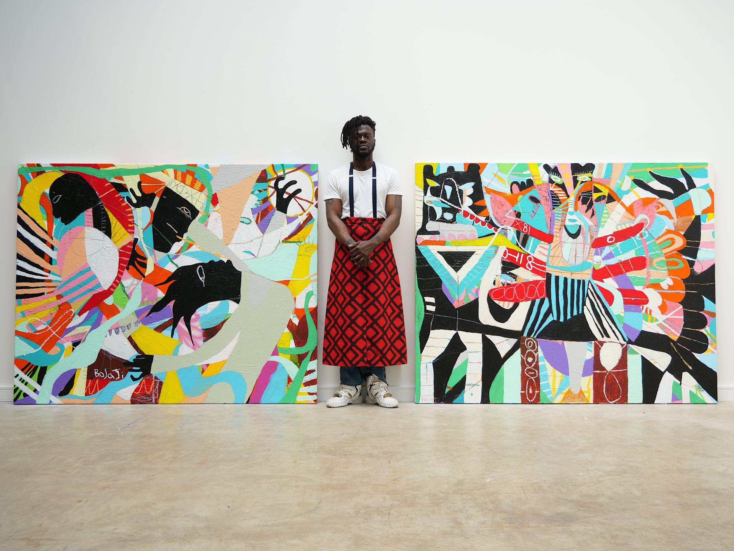 Adébayo Bolaji. Courtesy of BEERS London