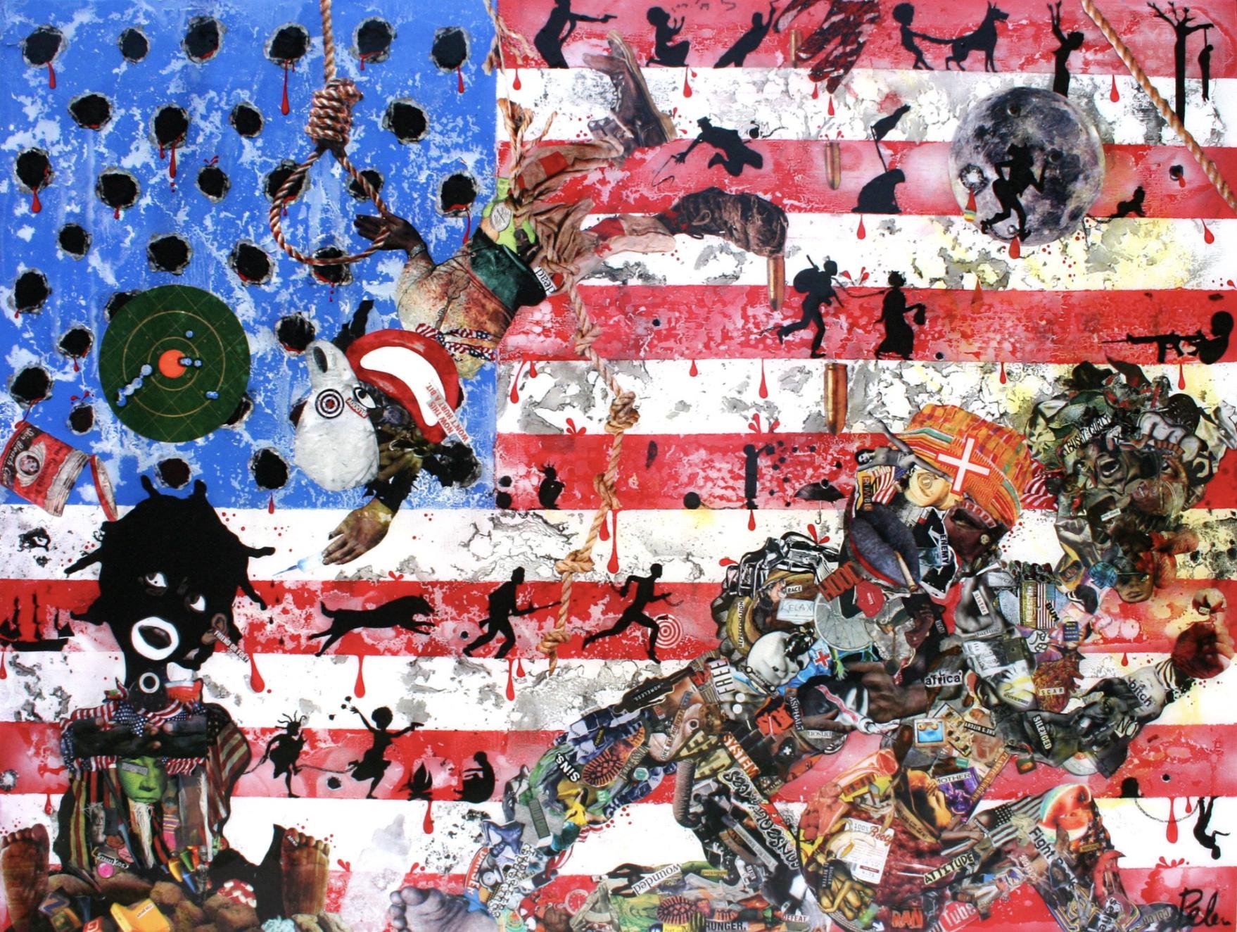 Penda Diakité, 'Made in America,' 2018. Pitroda Art