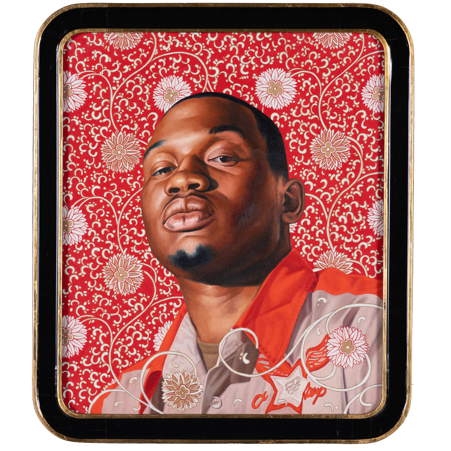 """Kehinde Wiley, '""""Ivelaw I (From the World Stage: China), 2007, via https://www.piasa.fr/en/auctions/aca-05-21"""