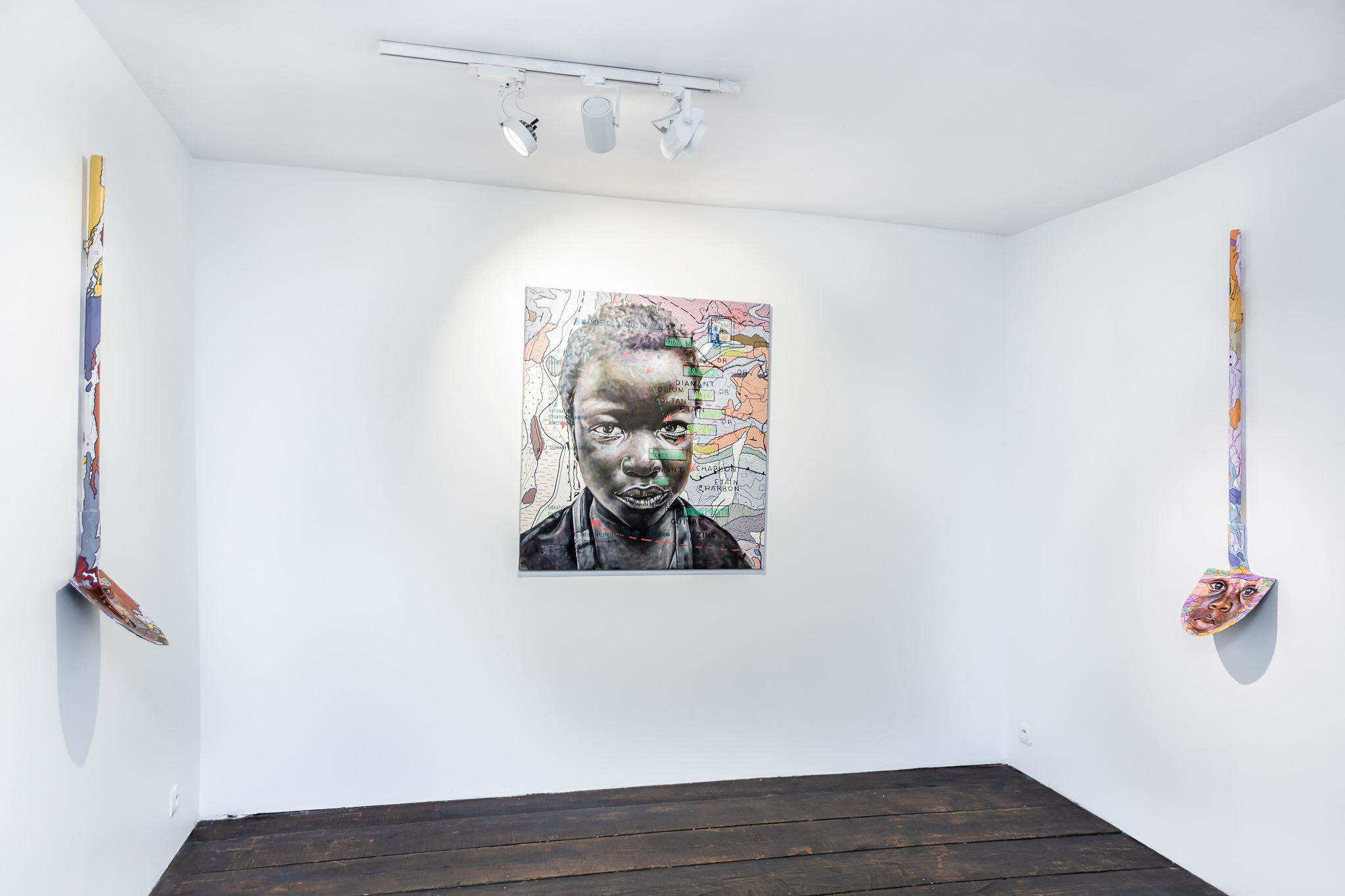 Installation view of Human@Condition' 2021. Courtesy of AFIKARIS Gallery