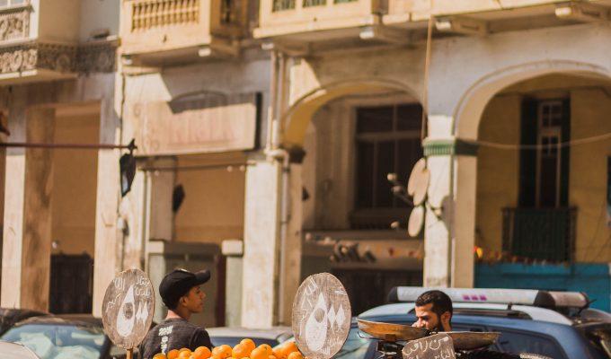 Rock, Photo: Fruit Cart, Oranges-Photo by Chinedum Odunze