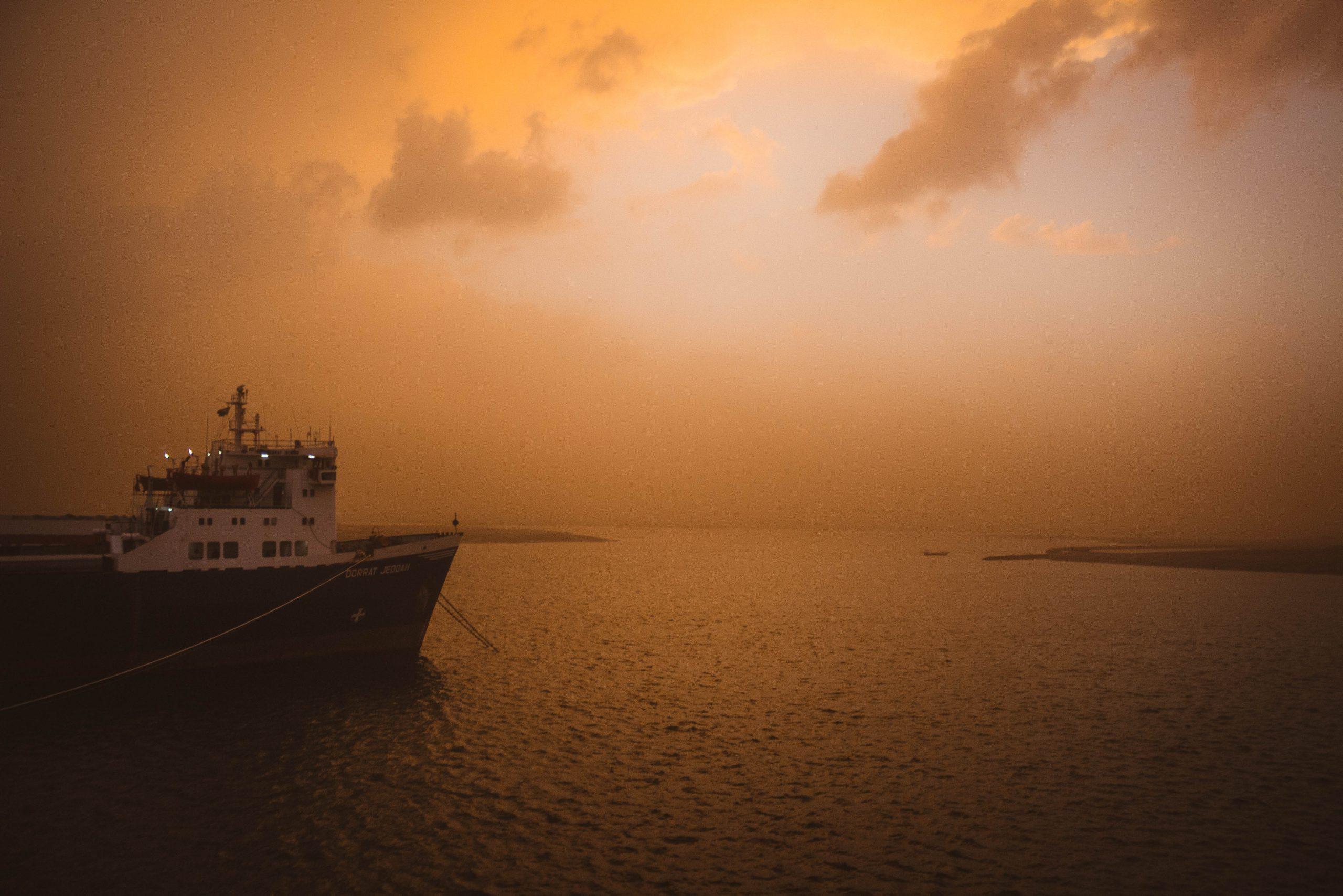 Twilight, Photo: Bow of Ship-Chinedum Odunze
