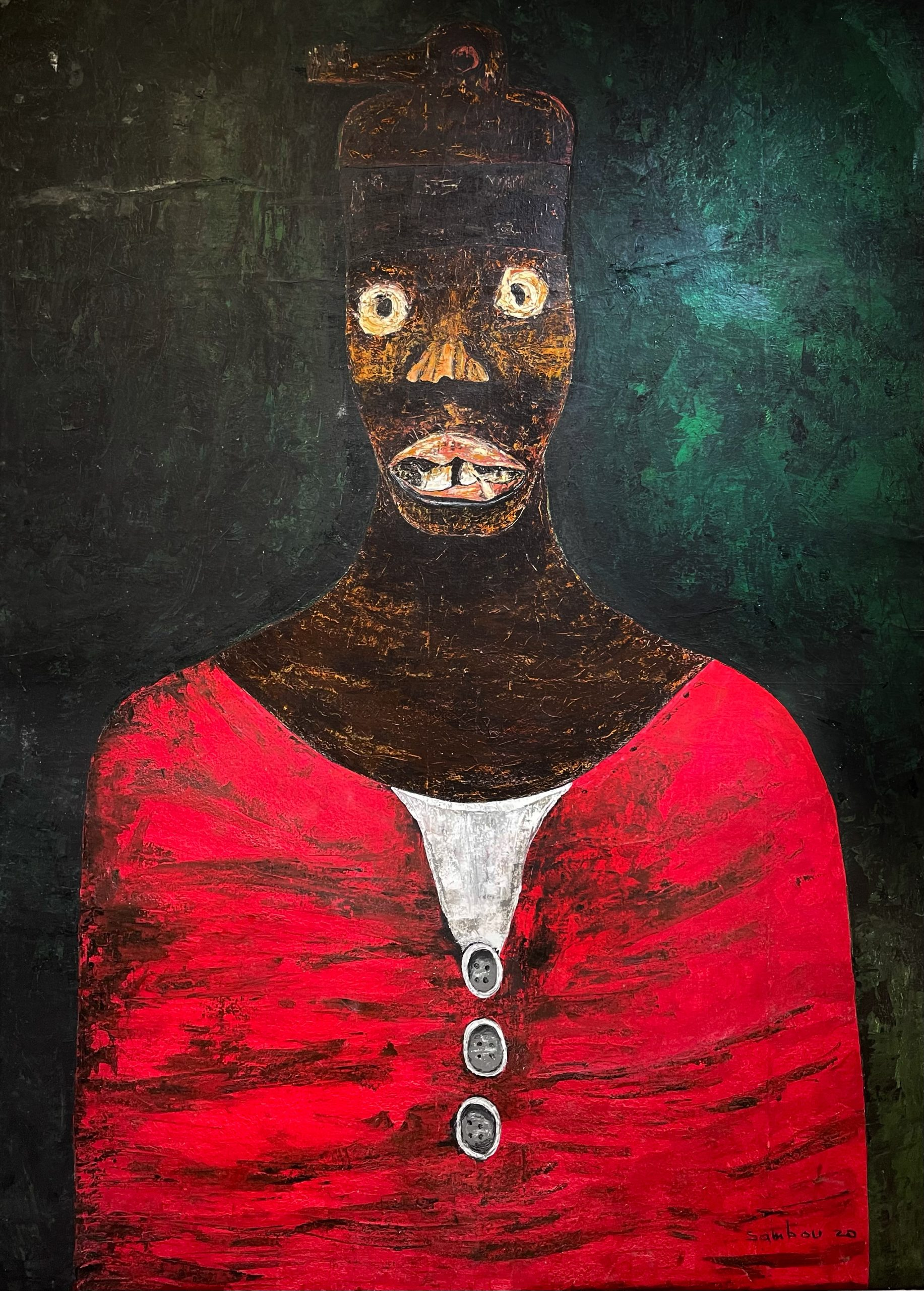 Sambou Diouf, 'Fang', 2020. Courtesy of OH GALLERY and the artist