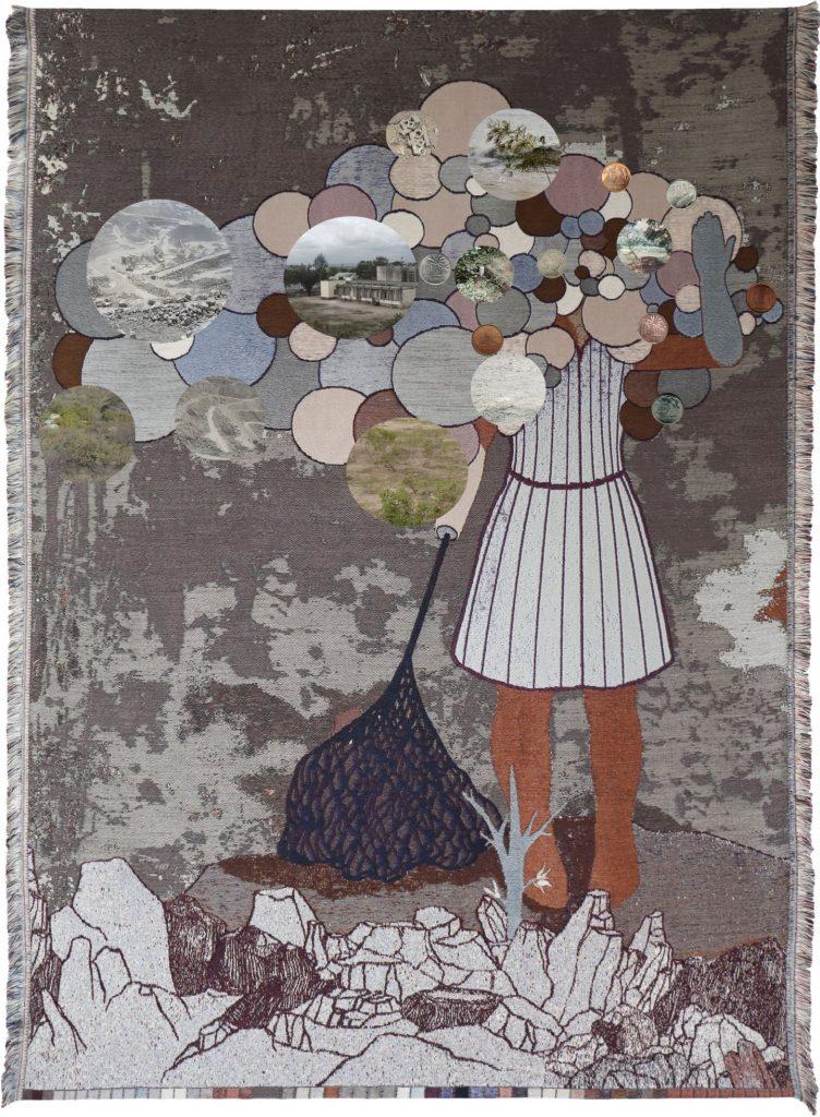 Otobong Nkanga Revelations, 2020, Tapestry. Source: amsterdamart.com