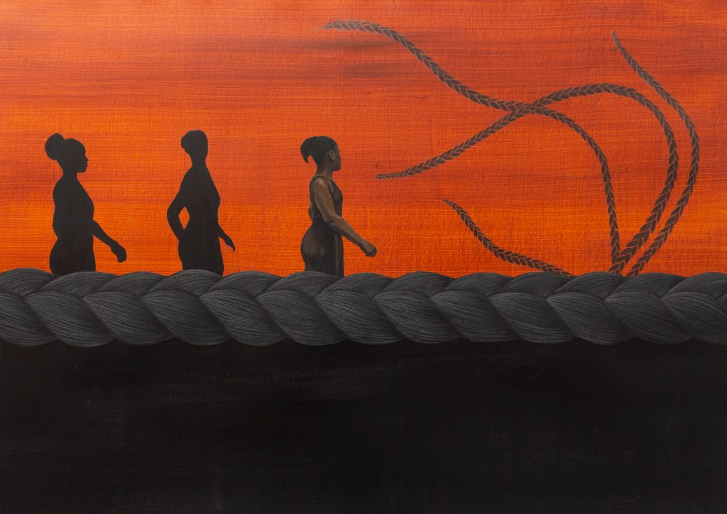 Bunmi Agusto, 'The Path Taken', 2021. Courtesy of DADA gallery and the artist