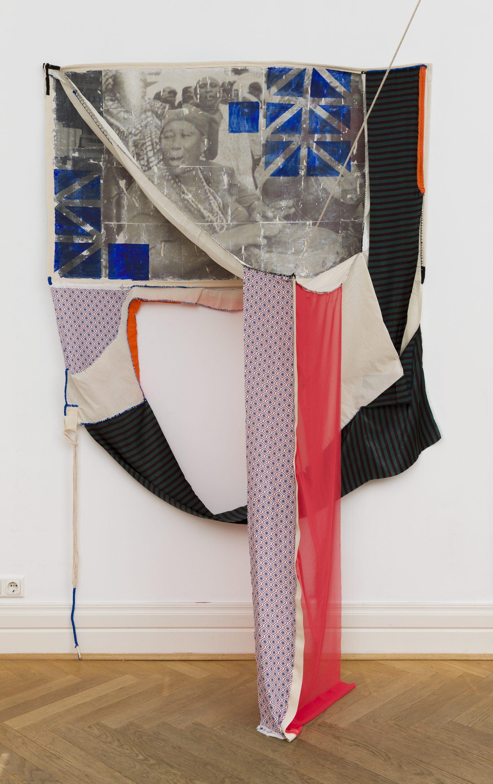 Januário Jano, 'Axiliuanda I', 2021. Photo by Ivan Murzin, Courtesy of Jean-Claude Maier Gallery