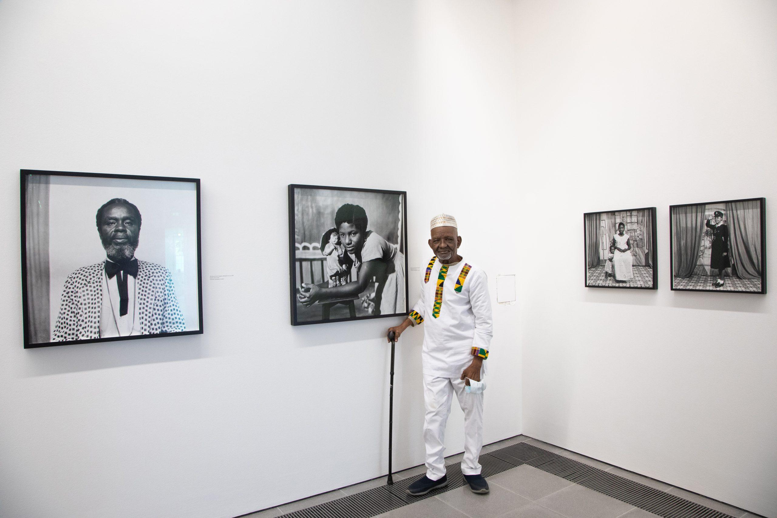 James Barnor: Accra/London - A Retrospective (Installation view, 19 May – 24 October 2021, Serpentine).