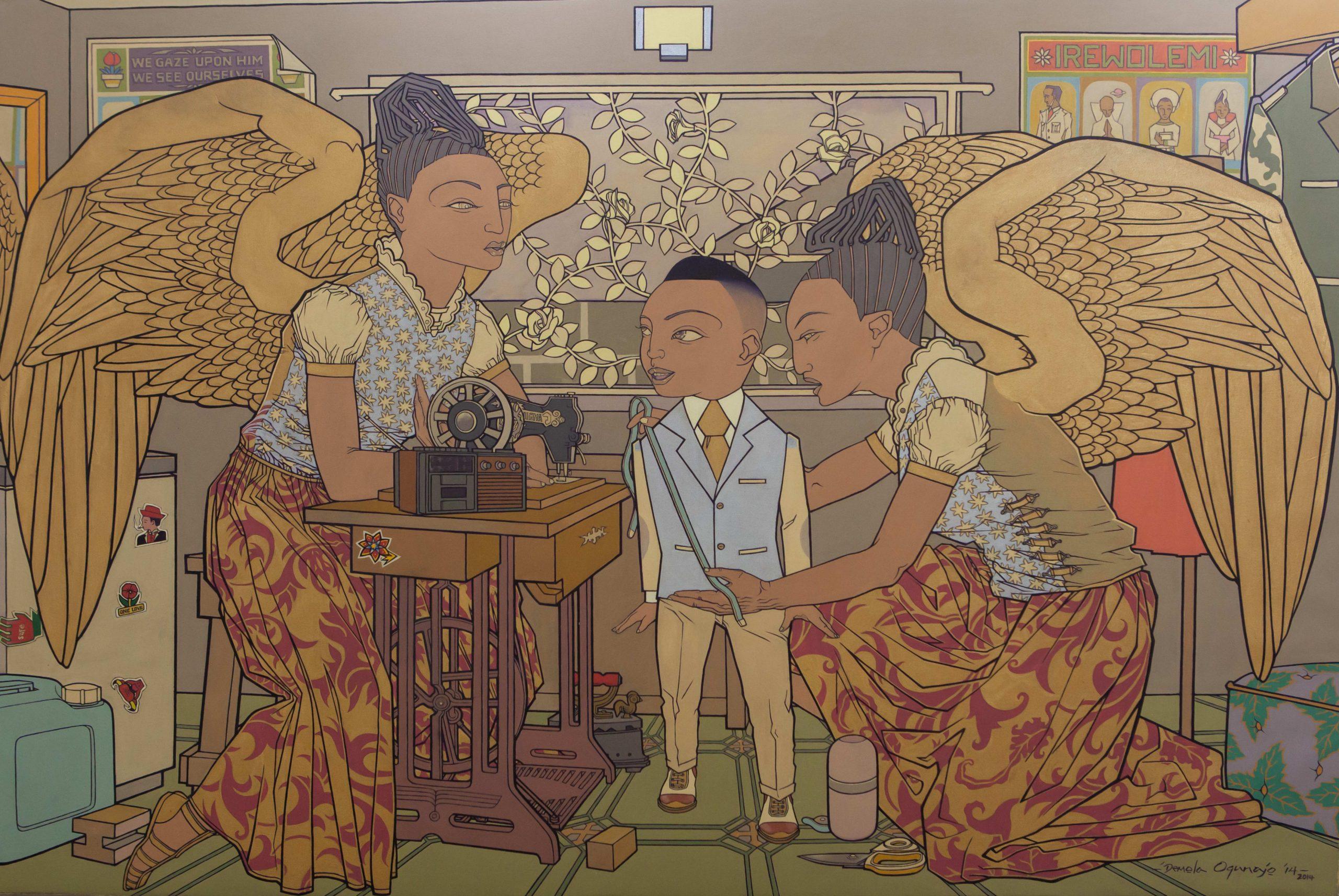 "Demola Ogunajo, ""New Raiment,"" 2014"