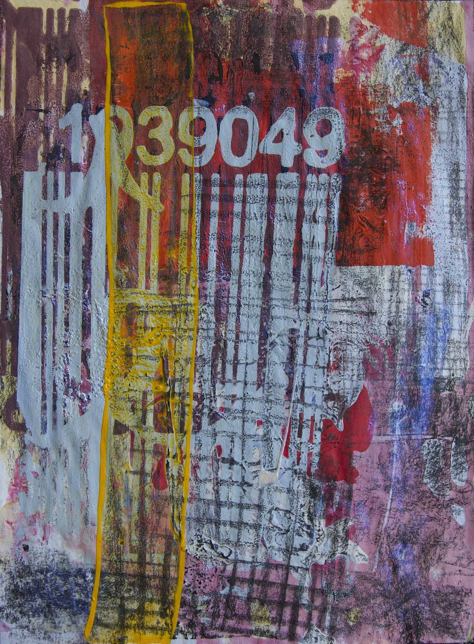 GRA (Government Reserved Areas). 2020 37-piece Drawing Installation Mixed media on paper