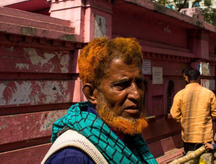Photo: Henna. Image of man with orange hair.