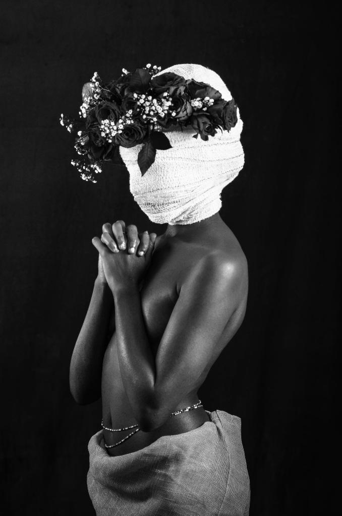 Margaret Ngigi's Wrapped up in my head. Courtesy of AKKA Project and the artist