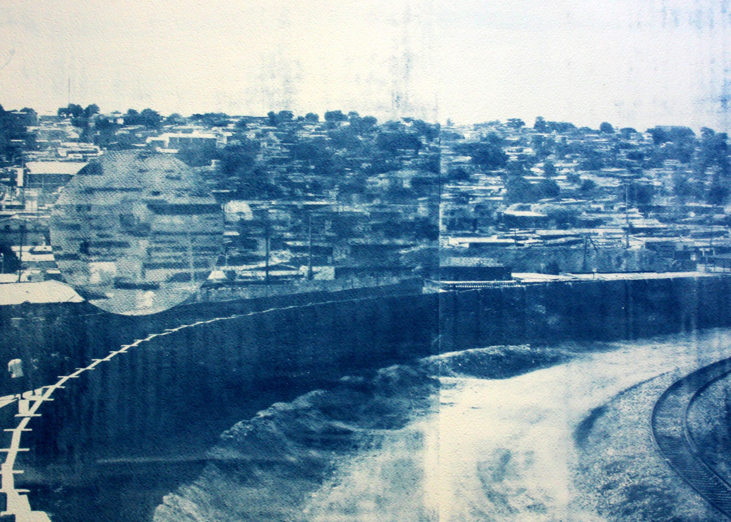 Délio Jasse, Terreno ocupado-5 (2014).