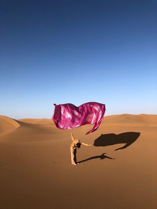Ismail Zaidy, 'Desert Rose', 2020, ('Hotel Sahara' at Magasins généraux, Pantin − Grand Paris, 2021). Photo by Tadzio, Copyright: Ismail Zaidy & Magasins généraux