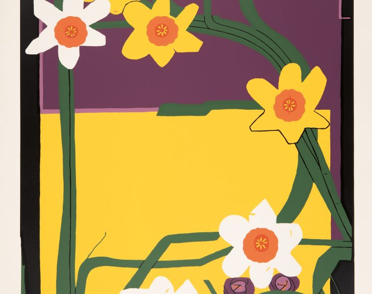 Uzo Egonu - Four Seasons - Spring - 1982 - SCreenprint on woven paper - 93.7 x 63 cm - Printers Proof
