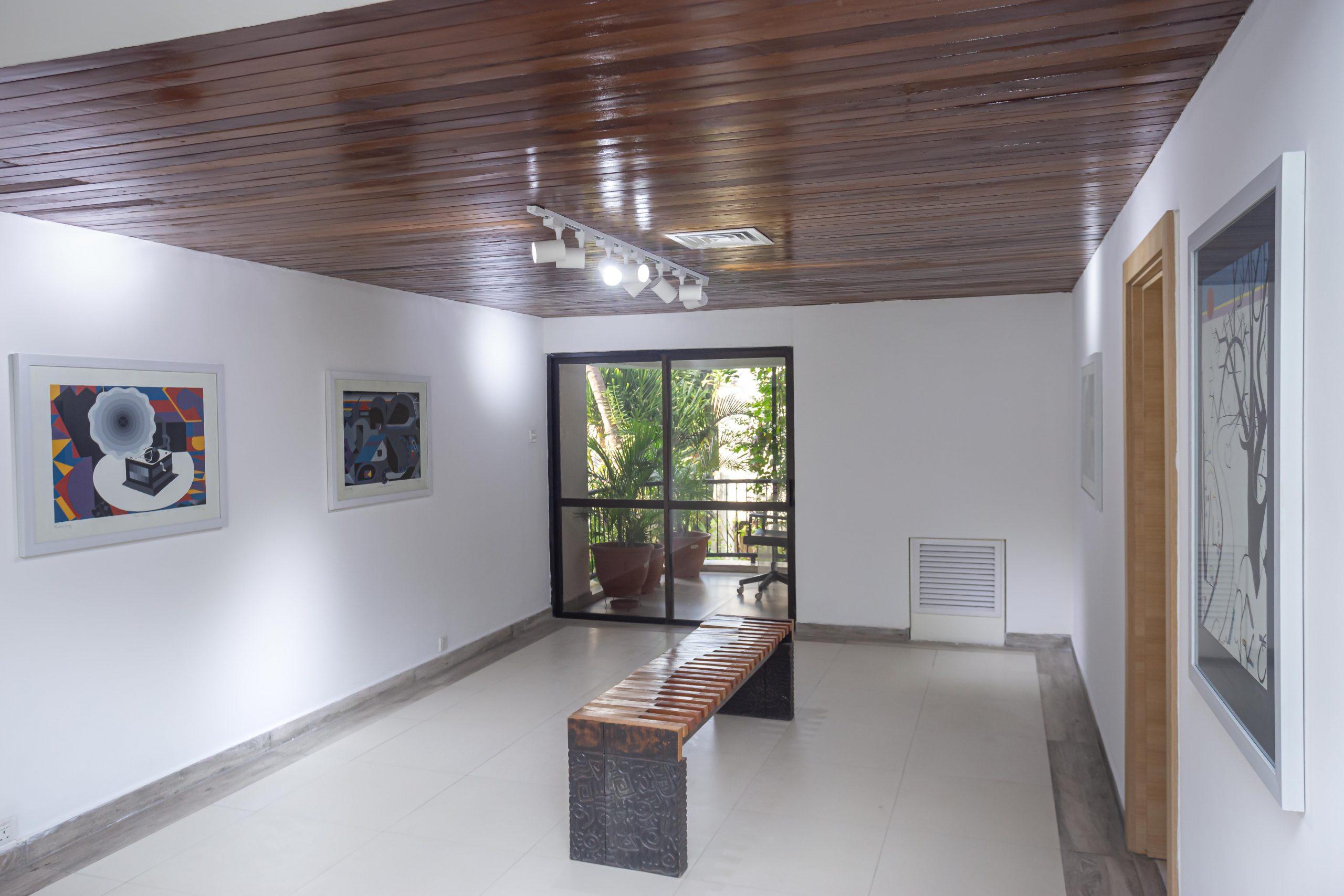 Installation view: Uzo Egonu's Prints at Kó art space in Lagos. Courtesy of Kó